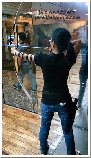 Gandiva Cafe & Archery Range, archery, Ortigas