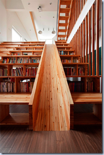 A Library Slide