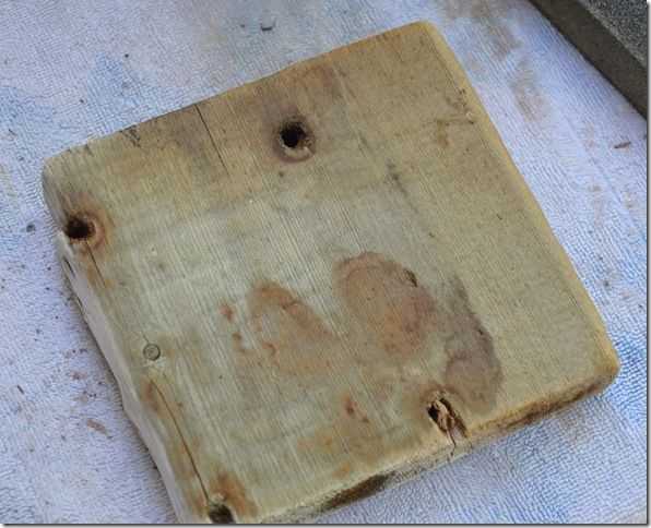 square driftwood