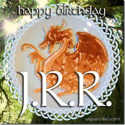 JRR Tolkien Pancake
