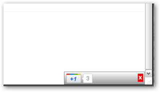 Google  1 Plus One Extension