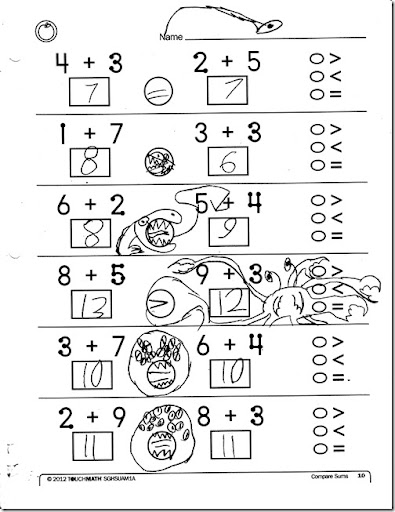math worksheet : homeschooling hearts  minds touchmath 2nd grade a review : Touch Math Subtraction Worksheets