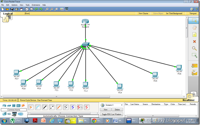 Packet Tracer VLAN Configuration Example