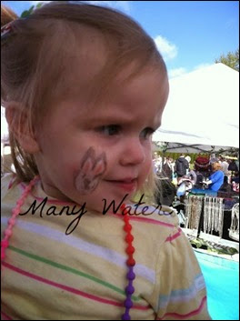 Many Waters Face Paint