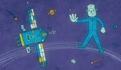 Стоп ГЛОНАСС. Иллюстрация © Эдуард Катыхин, «Маркер»