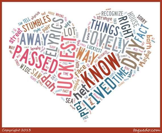 Luckiest Tagxedo