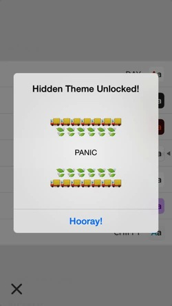 Unread new theme panic