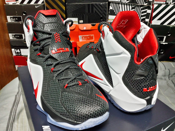 NIKEiD LeBron 12 Inspired by AZG Playoff PE Bulid by JRLYON