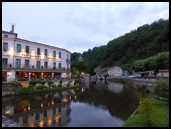 brantome water night