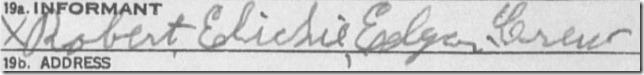 Robert Crew signature