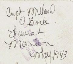 Capt Millard O Borke  Detroit lakes Ant back Number 1740