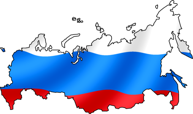 CC Photo Google Image Search Source is upload wikimedia org  Subject is Russian Flag with map