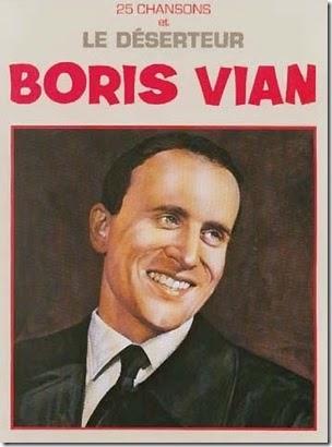 Boris Vian canzoni e Le diserteur