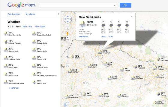 weather-google-map