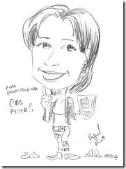 SPEED CARICATURE CRIS PETER