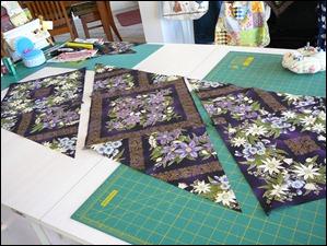 Block stitching order