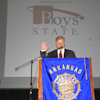 Boys State Swearing-in Ceremony