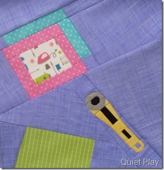 July block of the And Sew On BoM