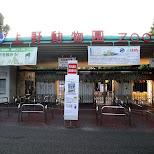 ueno zoo entrance gate in Ueno, Tokyo, Japan