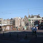 damrak in Amsterdam, Noord Holland, Netherlands