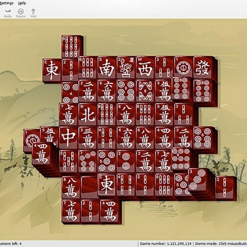Guida a KMahjongg divertente gioco da tavolo basato su Mahjong: configurazione.