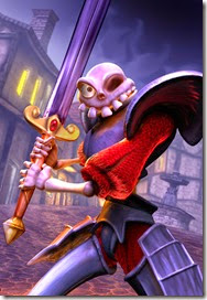 Legendary Sir Daniel Fortesque Hero of Gallowmere