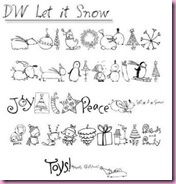 Let It Snow Font