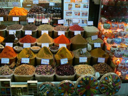 Obiective turistice Istanbul: Bazar egiptean