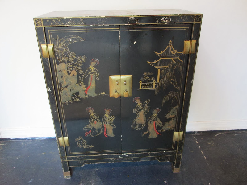 Painted Asian Chest