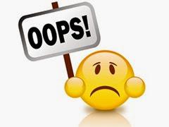 1 - Erros crassos que o concurseiro não pode cometer 400x300