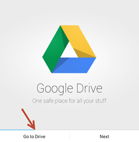 Google drive ใน Android