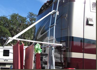 pvc clothesline