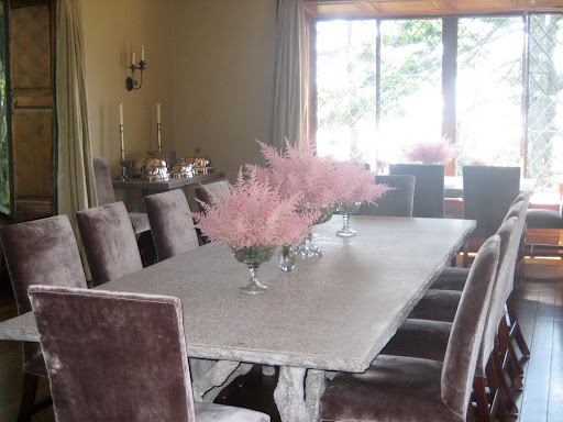Astilbe for the dining room.