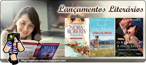 Lançamentos Literário - Halequin Julho2