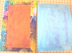 Art book April sea themed glue d page ready to add to cover 3. 2013