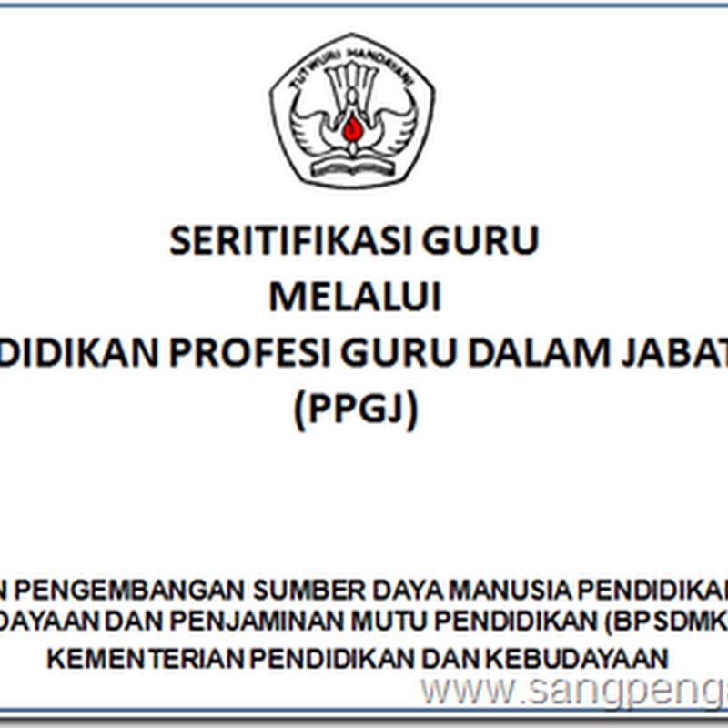 Download Pedoman Sertifikasi 2015 (PPGJ)