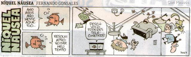 Níquel Náusea, Fernando Gonsales
