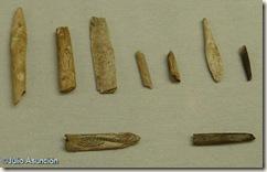 Utiles de hueso decorados de la Cueva del Parpalló - Museo de Prehistoria de Valencia