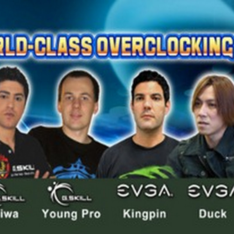 8 professional overclockers, one show, visit GSkill Booth at Computex 2012!