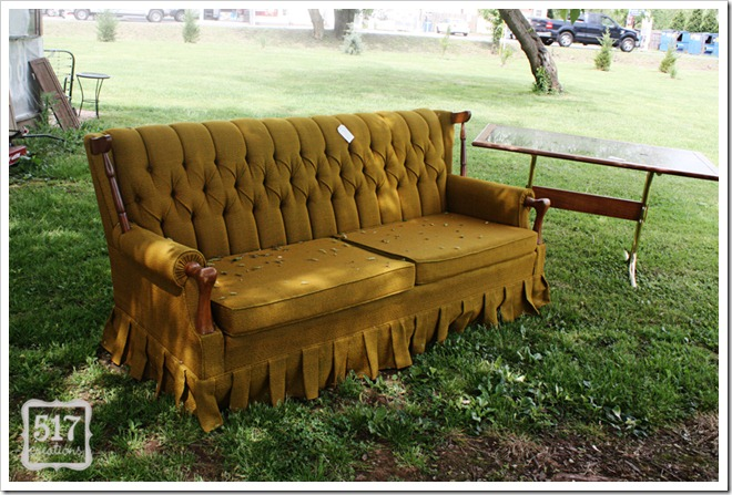 lucketts vintage couch