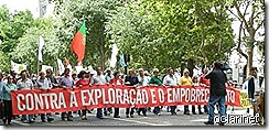 Manifestação 16Junho CGTP - oclarinet.blogspot.com