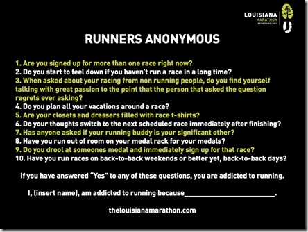 Runners Annonymous