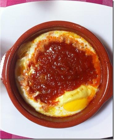 Huevos al plato2 El Cuaderno de Pili