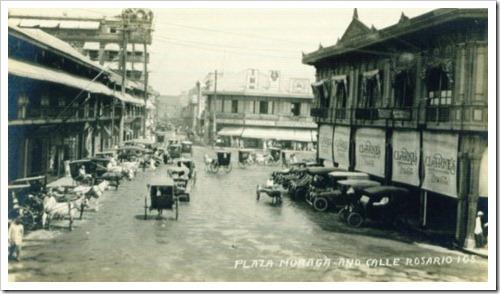 Plaza Moraga 1899