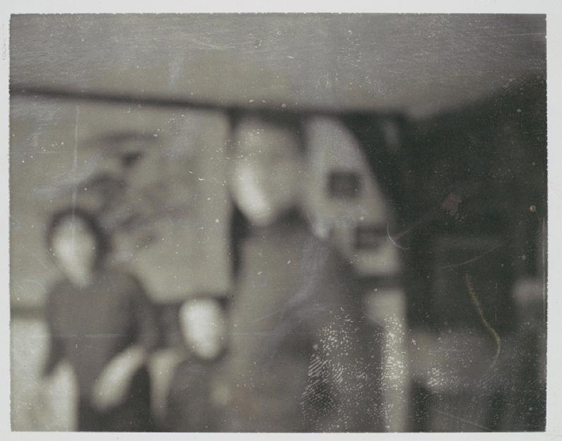 Gerhard Richter-Gustave Flaubert Beholds His Beloved-1966.jpg