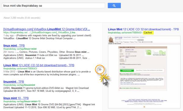 google-cache