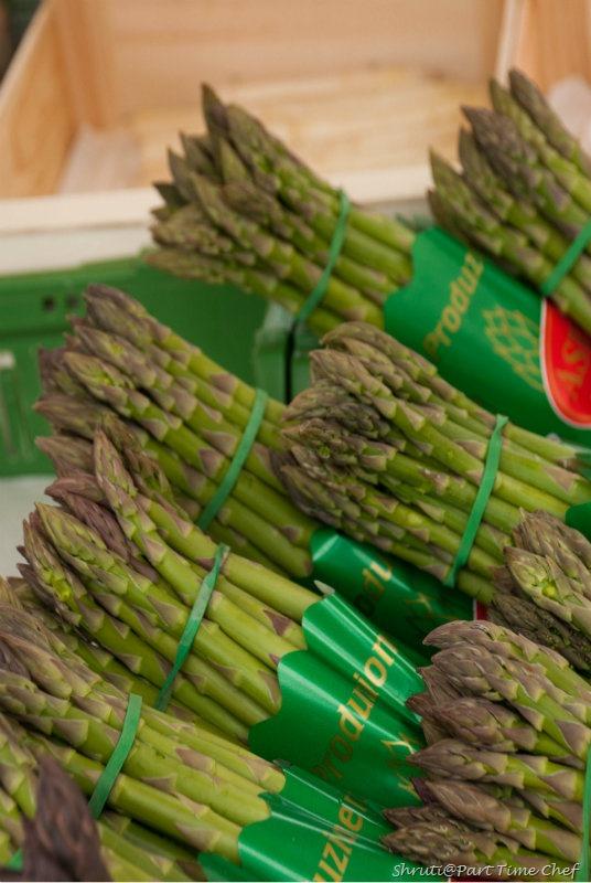 Zurich Market asparagus