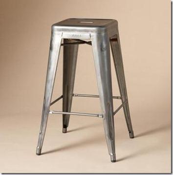 industrial style metal bar stool sundance & The Look For Less: Industrial Style Metal Bar Stools - The Shabby ... islam-shia.org