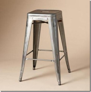 industrial style metal bar stool sundance