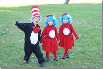 disfraz casero Gato Dr. Seuss  cosa 1 y cosa 2 (1)